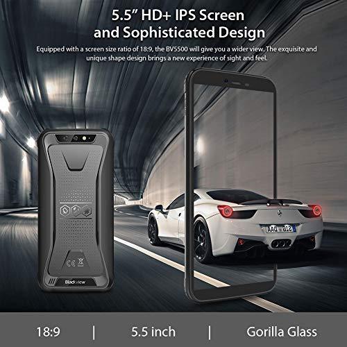 Telephone Portable Incassable, Blackview® BV5500 Ecran 5.5 Pouces HD+18:9, 16Go ROM + 2Go RAM et 4400mAh Batteries… 3