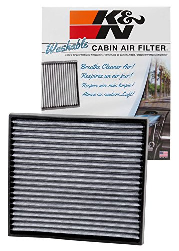 K&N VF2009 Washable & Reusable Cabin Air Filter Cleans and Freshens Incoming Air for your Scion, Toyota
