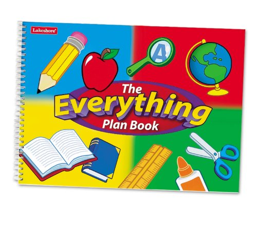 Lakeshore Everything Plan Book (Teachers Big Plan Book)