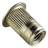 AVK Industrial ALS4T-1032-130 AL-Series Insert, Thread Size 10-32, Yellow