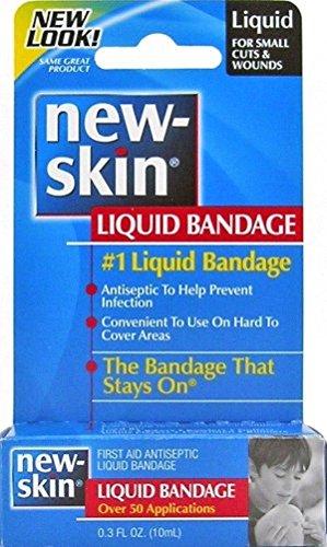 New-Skin Liquid Bandage, First Aid Liquid Antiseptic, Over 5