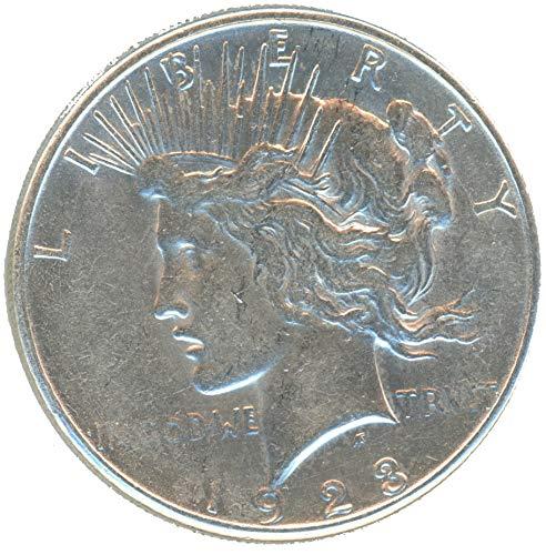 1922-1935 Peace Dollar $1 AU/UNC