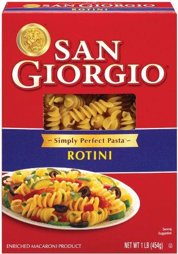 San Giorgio Rotini Pasta 16 oz (Pack of 12)