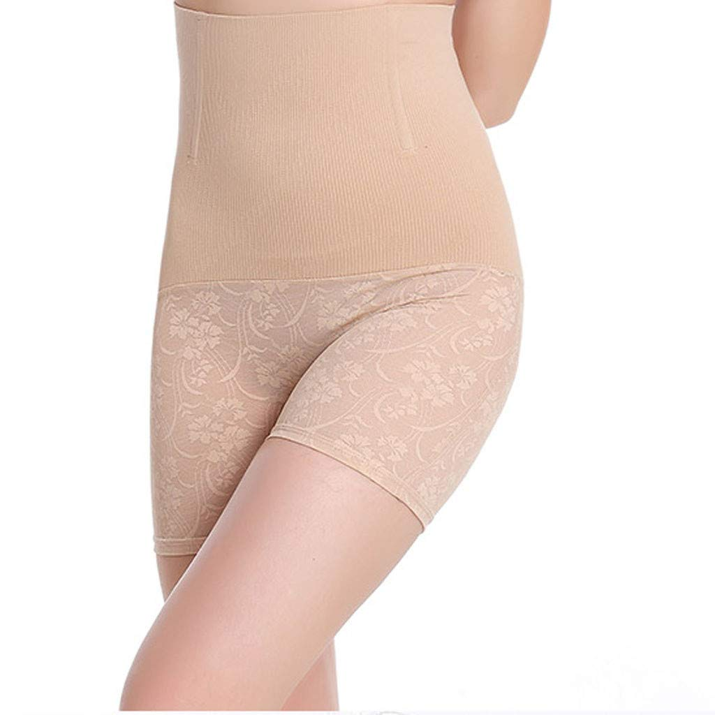 631e82e02a9 CapsA High Waist Shapewear Boyshorts Tummy Control Panty Slimming Brief  Lace Underwear Butt Lifter Boy Shorts Shapewear at Amazon Women s Clothing  store