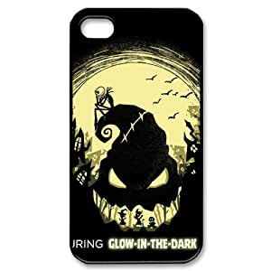 Classic Case The Nightmare Before Christmas pattern design For Apple iPhone 4,4S Phone Case
