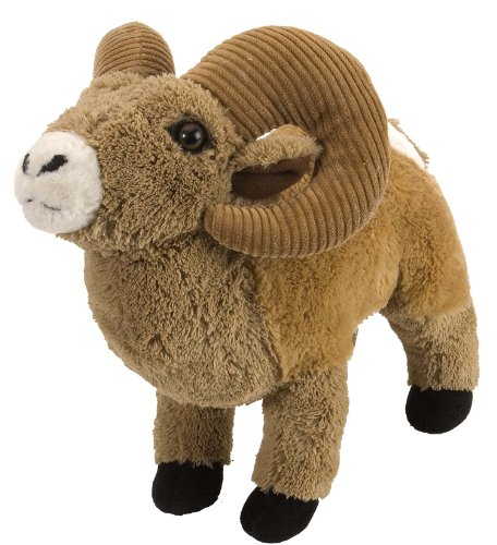 Wild Republic Bighorn Sheep Plush, Stuffed Animal, Plush Toy, Gifts for Kids, Cuddlekins 12 Inches