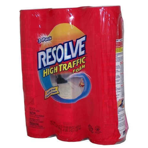Resolve High Traffic Foam, 22 Ounce (Pack of 3) by Resolve (Image #1)