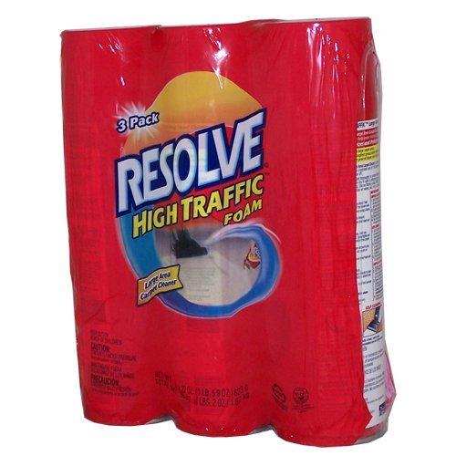 Resolve High Traffic Foam, 22 Ounce (Pack of 3)