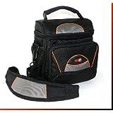 LOOKit® Sac GW-38 étanche, pour Panasonic FZ82 FZ300 FZ1000 FZ2000 Canon G3x, Canon SX50 SX520 SX60 G16 G15