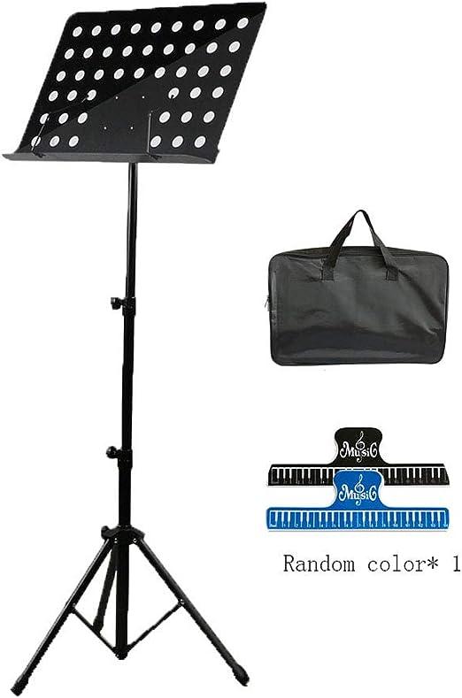 yjtypj Atril Musica, Stand para Partituras Plegable Portátil ...