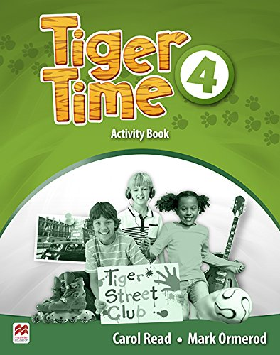 Tiger Time Activity Book