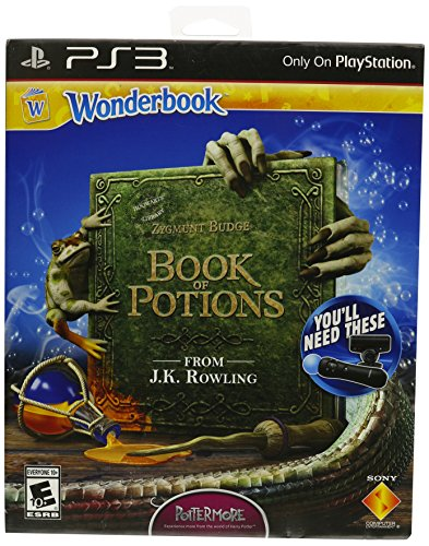 Wonderbook: Book of Potions (PS3) (Ps3 Wand)