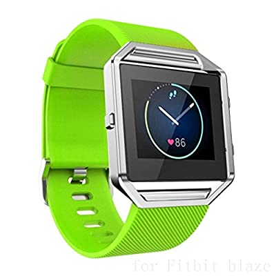Ldaai For Fitbit Blaze, Soft Silicone Replacement Watch band Wrist strap For Fitbit Blaze Smart Watch(Frame Not Included)