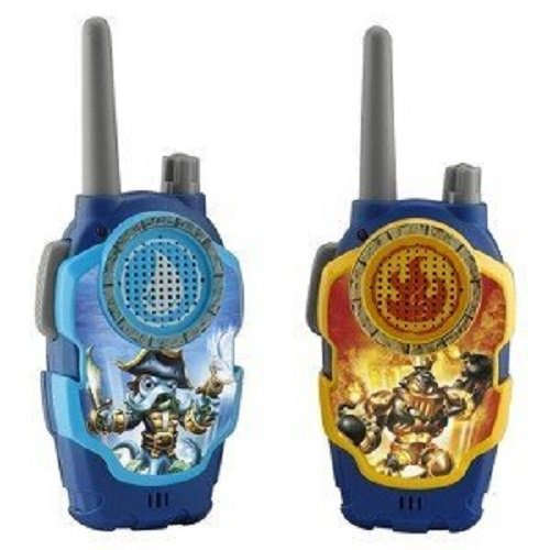 Skylanders Wash Buckler & Blast Zone FRS 2-Way Radios Playset -
