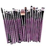 Susenstone®20pcs/set Makeup Brush Set (Purple)