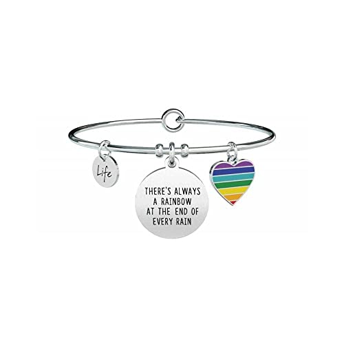 nuovo concetto aaf93 f89a5 KIDULT LIFE PHILOSOPHY BRACCIALE ACCIAIO 316L - THERE'S ALWAYS A...731313
