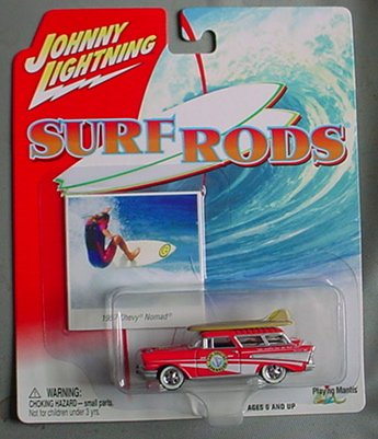 - Johnny Lightning Surf Rods 1957 Chevy Nomad Station Wagon