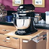under cabinet appliances - Rev-A-Shelf - RAS-ML-HDCR - Full Height Base Cabinet Heavy Duty Mixer Lift