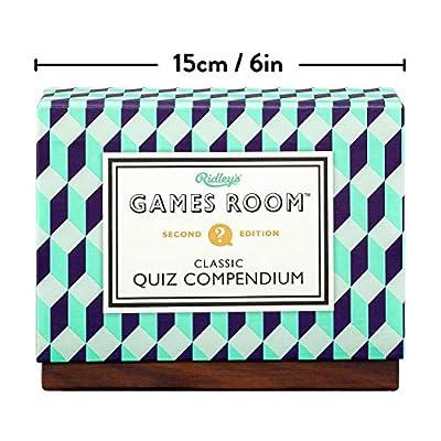 Ridley's Classic Quiz Compendium Set with 4 Trivia Quiz Decks: Toys & Games
