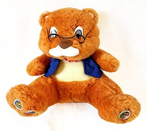 Talking Grandpa Teddy Bear Story Telling Nursery Rhymes Interactive -