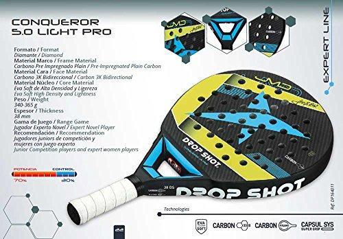 Drop Shot - Raqueta de pádel | Conqueror 5.0 Junior Pro: Amazon.es: Deportes y aire libre