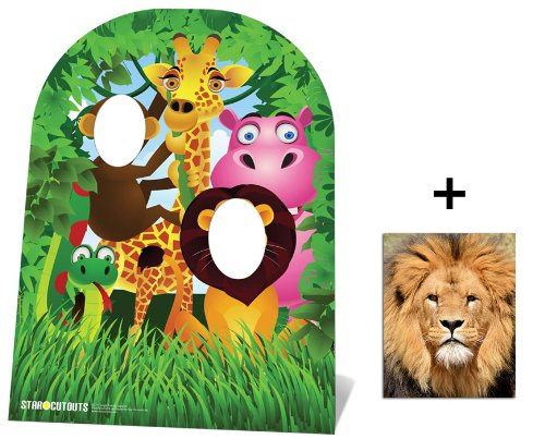 Fan Pack - Jungle Stand In Child size Cardboard Cutout / Standee - Includes 8x10 (20x25cm) Photo