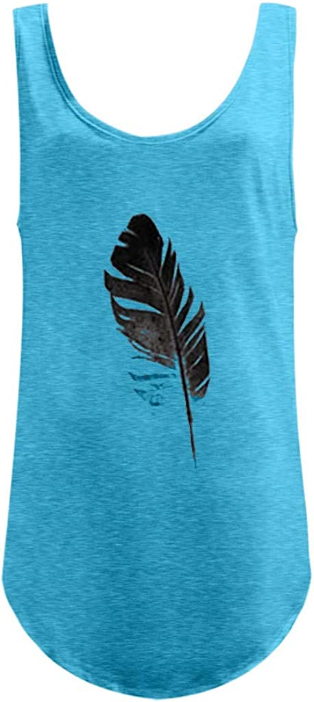 Transer- Tank Tops Feather...