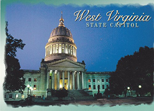 STATES1WV069 - WEST VIRGINIA - State Capital Charleston; Is located in the Kanawha, River Valley - A U.S. State POSTCARD .. from - California Valley Fair