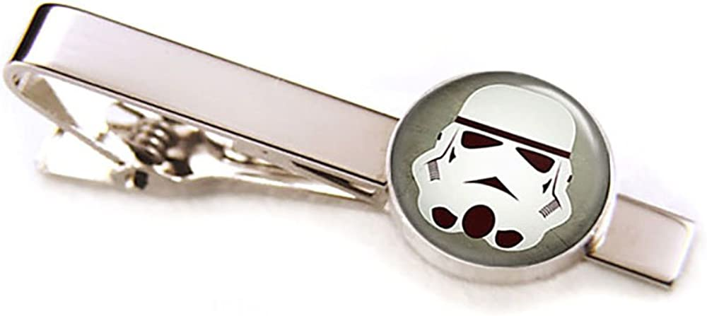 Stormtrooper Cufflinks, Star Wars Tie Clip, Stormtroopers Jewelry, Jedi Cuff Links, Darth Vadar, Death Star, Wedding Party