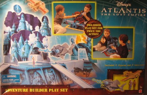Disneys Atlantis: The Lost Empire Adventure Builder Play Set (Set Empire Builder)