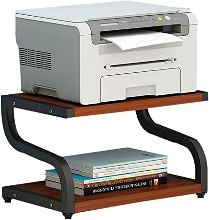 Color : Brown, Size : 42x28x30cm Supports imprimantes /Étag/ère//Support for Imprimante Bureau Multifonction for Plancher Armoire for Imprimante Support Simple /Étag/ère De Bureau en Bois