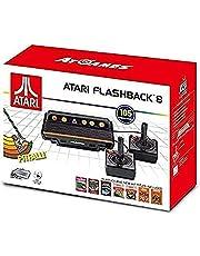 Atari Consola de juegos clásico Flashback 8 con 105 juegos- Edición Estándar - Standard Edition