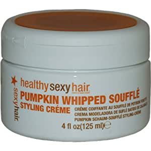 Sexy Hair Pumpkin Whipped Souffle Styling Creame, 4 Ounce