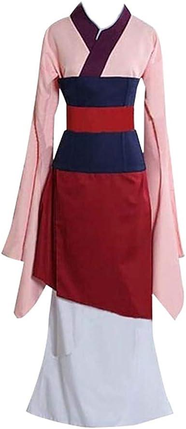 Chino Hanfu Antiguo Tradicional Vestido Rosa Princesa Disfraz De ...
