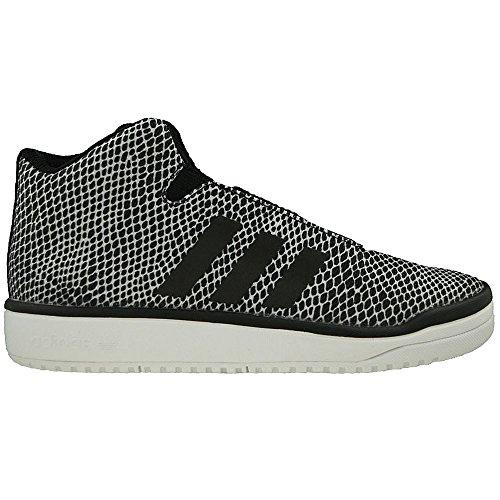 adidas Veritasid Kid, Sneakers Basses Garçon Blanc-Noir