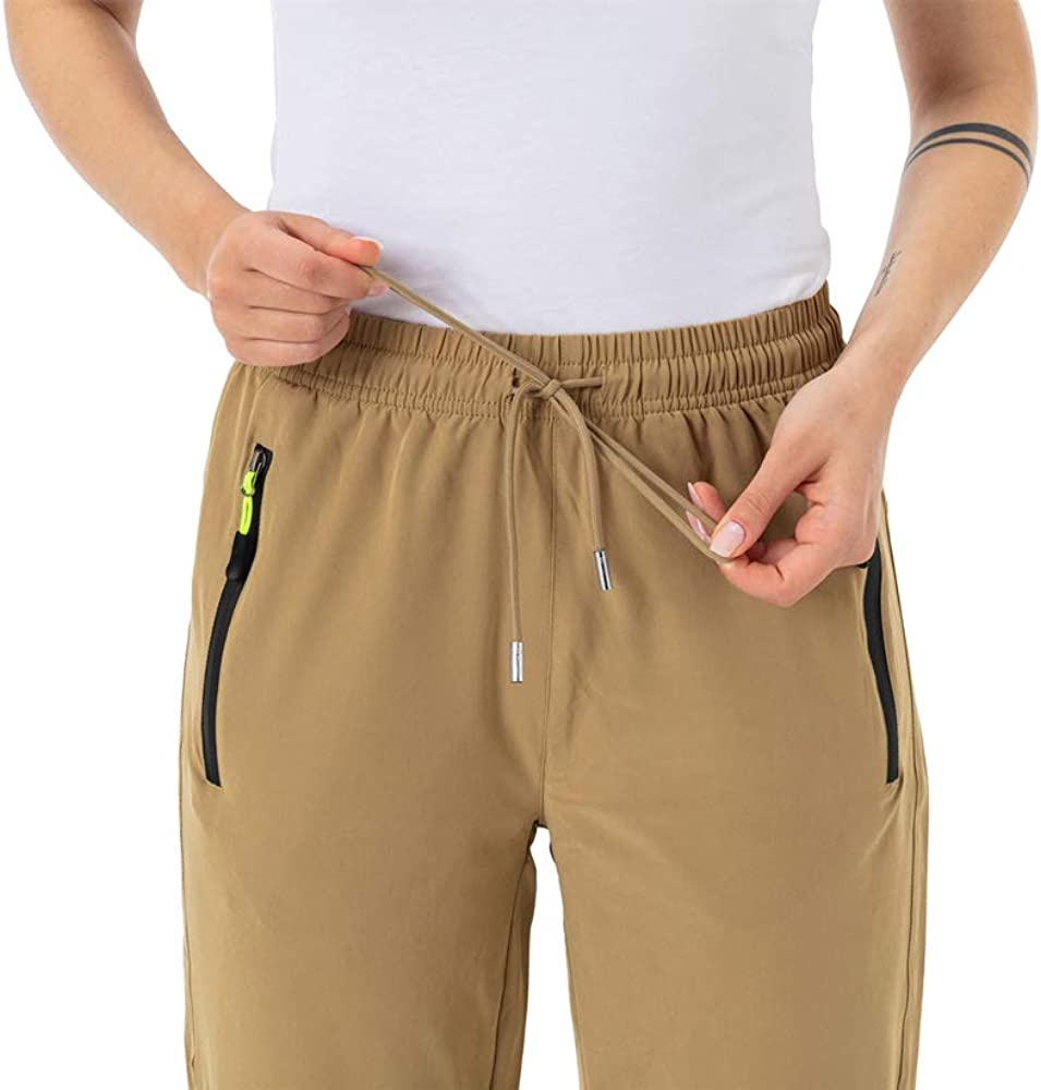 Gopune Womens Outdoor Lightweight Sportswear Quick Dry Water Resistant Mountain Hiking Pants