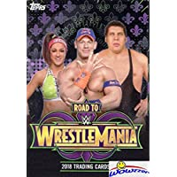 2018 Topps WWE Road to Wrestlemania HUGE Factory Sealed HANGER Box with 42 Cards includes (5) EXCLUSIVE RTW Cards! Look for Cards & Autos of Jon Cena, Roman Reigns, Brock Lesner & More! Wowzzer!