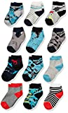 Spotted Zebra Boys' Kids Cotton Crew Socks, 12-Pack