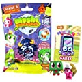Moshi Monsters Moshlings Series 3 Mini Figure 2pack Includes 1 Virtual Prize Code by Spin Master