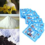 5 Pack-Artificial Instant Snow Fluffy Super Absorbant Decorations Seasonal Garden Home Decor Accents For Christmas Wedding Kids Children Play ( 5pcs)