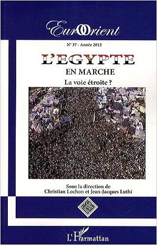 Livres gratuits EurOrient, N° 37 : L'Egypte en marche : La voie étroite ? pdf, epub ebook