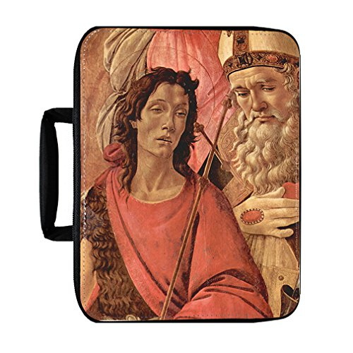 Madonna Throne Of Angels #1 (Botticelli) Insulated Lunch Box - Botticelli Madonna