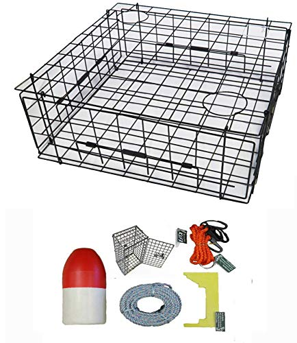 Used, KUFA Vinyl Coated Crab Trap & Accessory kit (100' Lead for sale  Delivered anywhere in Canada