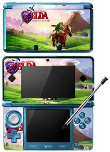 Amazon.com: Zelda Ocarina of Time Game Skin for Nintendo 3DS ...