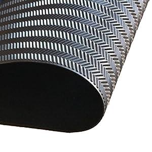 EZ ShoePAD 1/8 black shoe rubber soling sheet Shoe soles repairing rubber sheet. Shoes bottom repairing material 1 pack