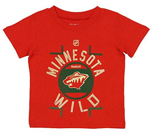 NHL Toddler s Minnesota Wild Short Sleeve Skate The Circles Tee 120d03091