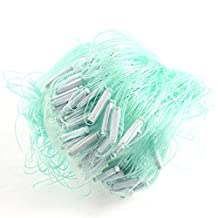 Outdoor Fishing Monofilament Gill Net 24M x 1.1M White Green
