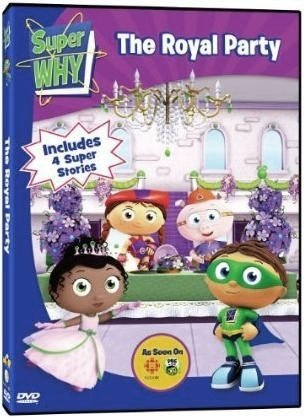 amazon com super why the royal party movies tv