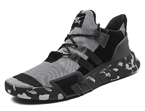 Free Fashion Camouflage Transform Shoes Black Men's Sneaker Flyknit Running JiYe qaWwUC1W