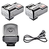 Neewer 4 Channels Wireless/ Radio Flash Trigger Set With 2 Receivers
